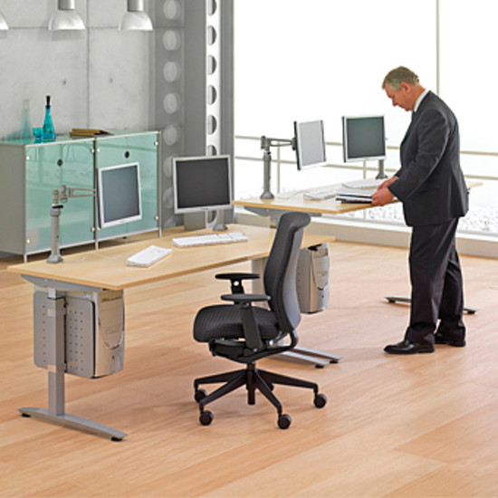 Good office ergonomics the three biggest benefits dbi for Good office furniture