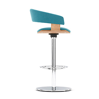stool types pedestal bar of stools white guide modern base chrome finished buying counter with