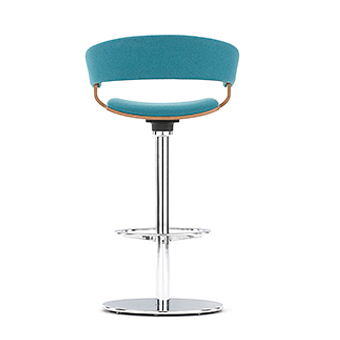 Blue Bar Stool