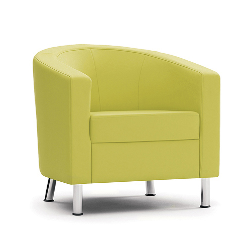 Lime Green tub chair