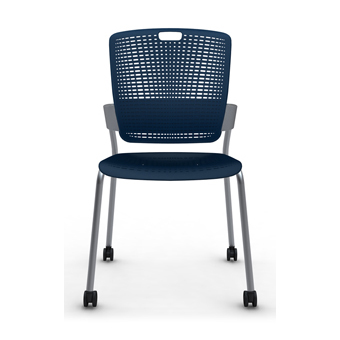 Merveilleux C20 Cinto Stacking Chair Without Arms With Four Legs With Castors