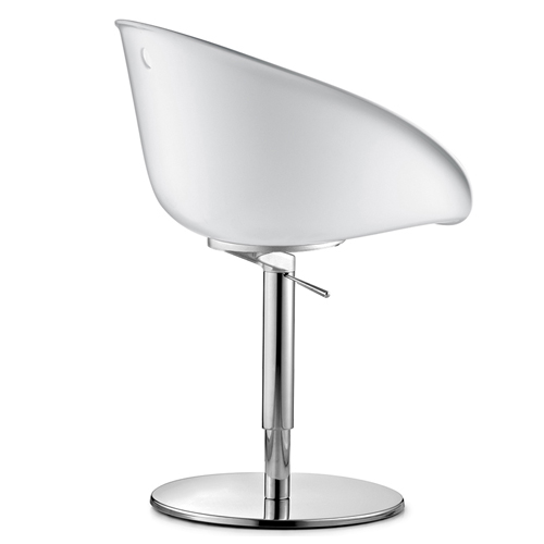 950 Gliss Swivel Chair With Technopolymer Shell And Pedestal Base