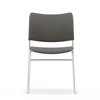 HD415 Elios Fully Upholstered Chair Without Arms