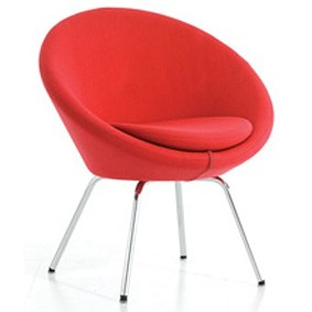 A637 Conic Fully upholstered Tub Chair With 4 Legs - DBI Furniture ...