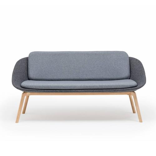 DISHYSOFA/WF Dishy Sofa With Wooden Frame