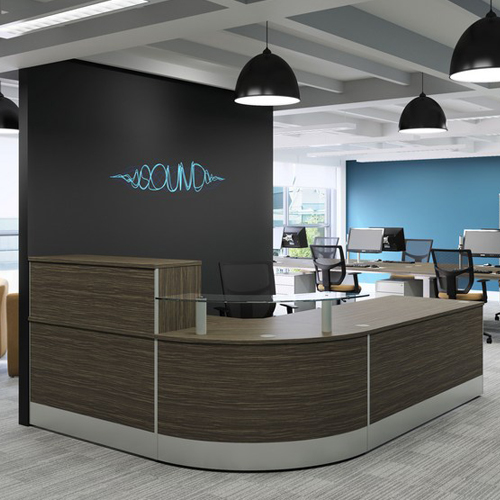 The Best Design Solutions: X-Range Right Hand Reception Counter