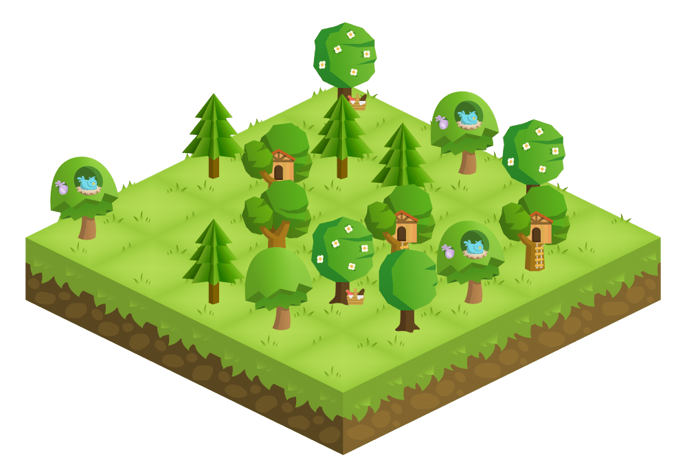 Screenshot of the Forest productivity app